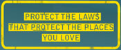 Protect the Places you Love